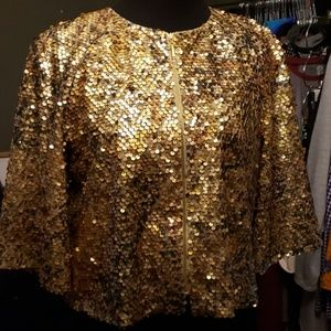 Glittery disco jacket lots of sequins